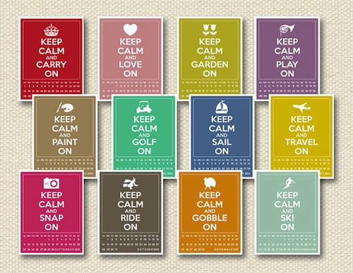 Diy Quote Calendar : Diy calendars for