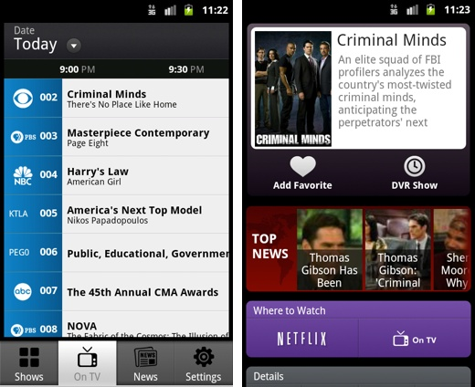 itv android phones i.TV brings its local TV guide app to Android users in North America
