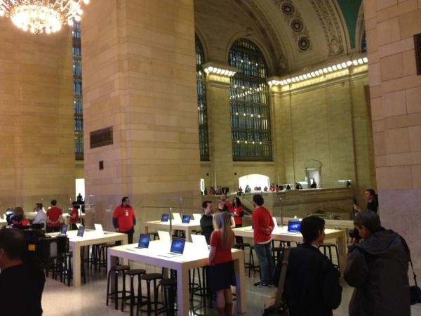 Apple's new Grand Central store opens Friday, here's a photo tour