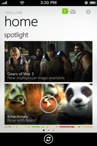 Microsoft releases My Xbox Live for iOS
