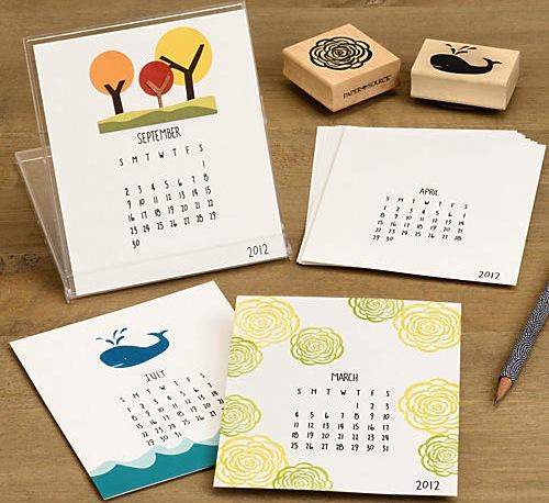 Diy Calendar January : Diy calendars for