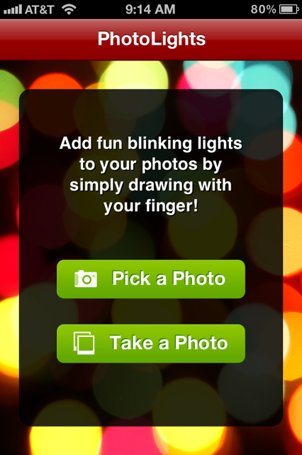 photo 11 Make any picture blink festively with Photo Lights for iOS
