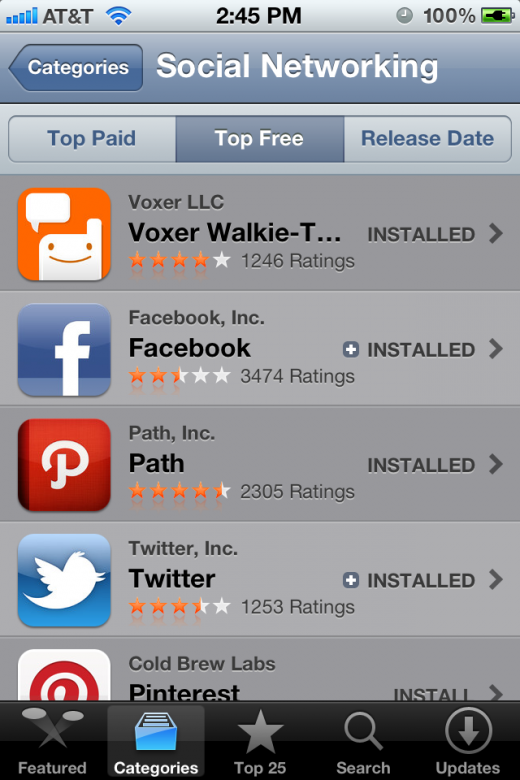 photo 14 520x780 The #1 social networking app on Apples app store isnt Facebook, its Voxer