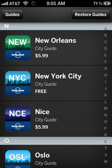 photo 15 Lonely Planets iOS guide to NYC goes free until December 15th