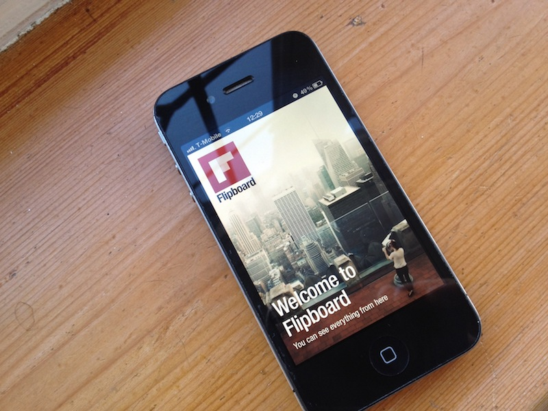 Apple's Phil Schiller gives Flipboard for iPhone a well-deserved endorsement