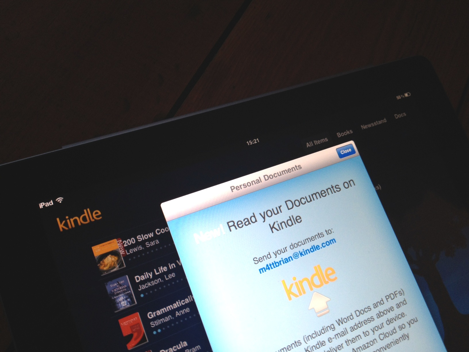 Amazon updates Kindle for iOS, allows iPad owners to access Kindle Fire magazines