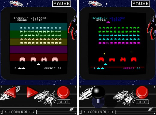 spaceinvaders 520x385 10 of the greatest vintage games ported to iOS