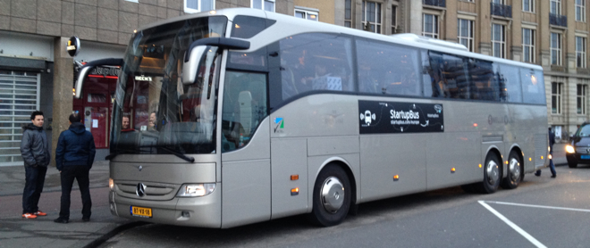 StartupBus Europe hits the road: Here's how you can get involved
