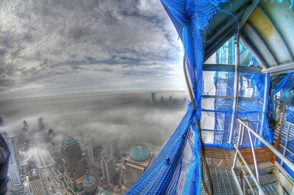 Check out this stunning picture taken from the World Trade Center