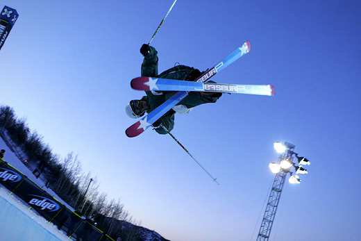 GroupMe is built right into the new Winter X Games 2012 mobile app