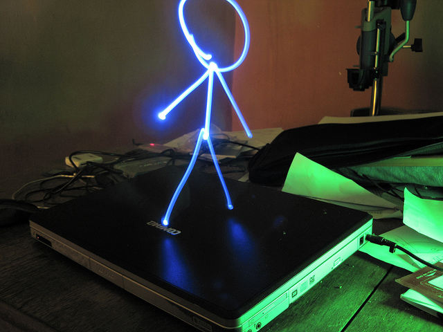Get immersed in an animated game just by drawing a stickman