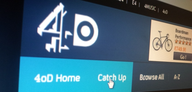 Channel 4's 4oD service notched up 427m video views in the UK last year, up 16%