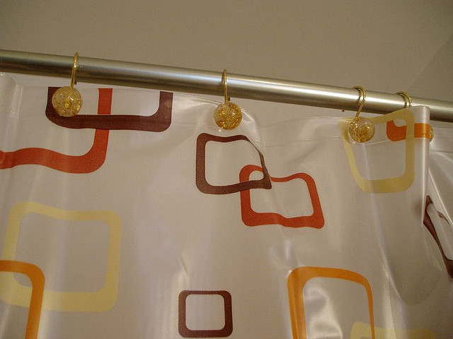 Take Your Facebook Profile Into The Bathroom With This Highly Geeky Shower Curtain