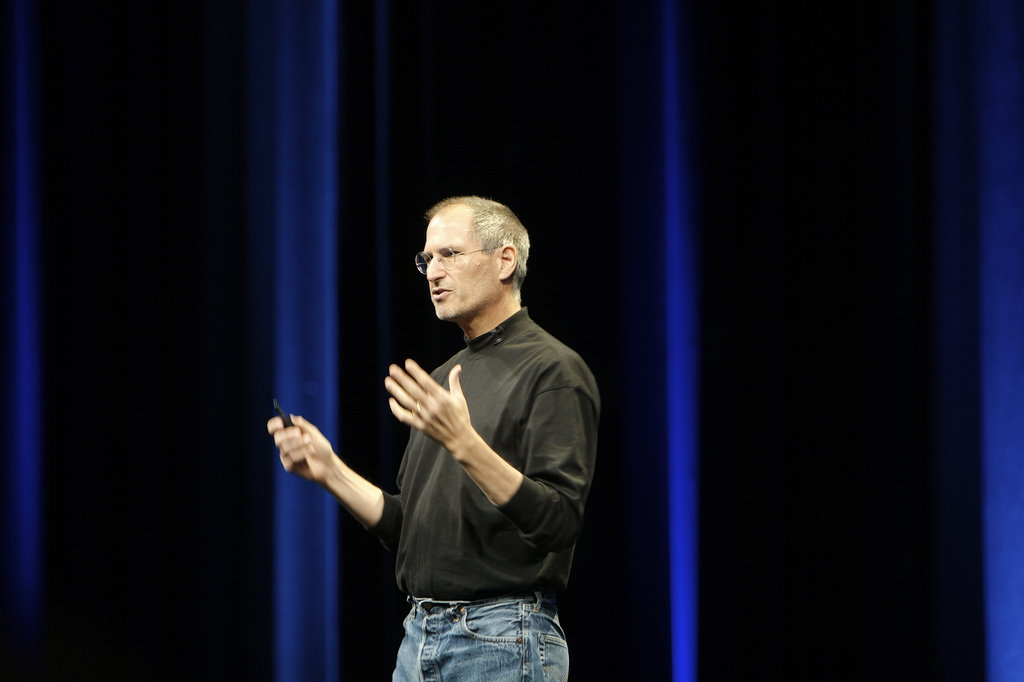 This Steve Jobs action figure is so realistic, it's actually kind of freaky