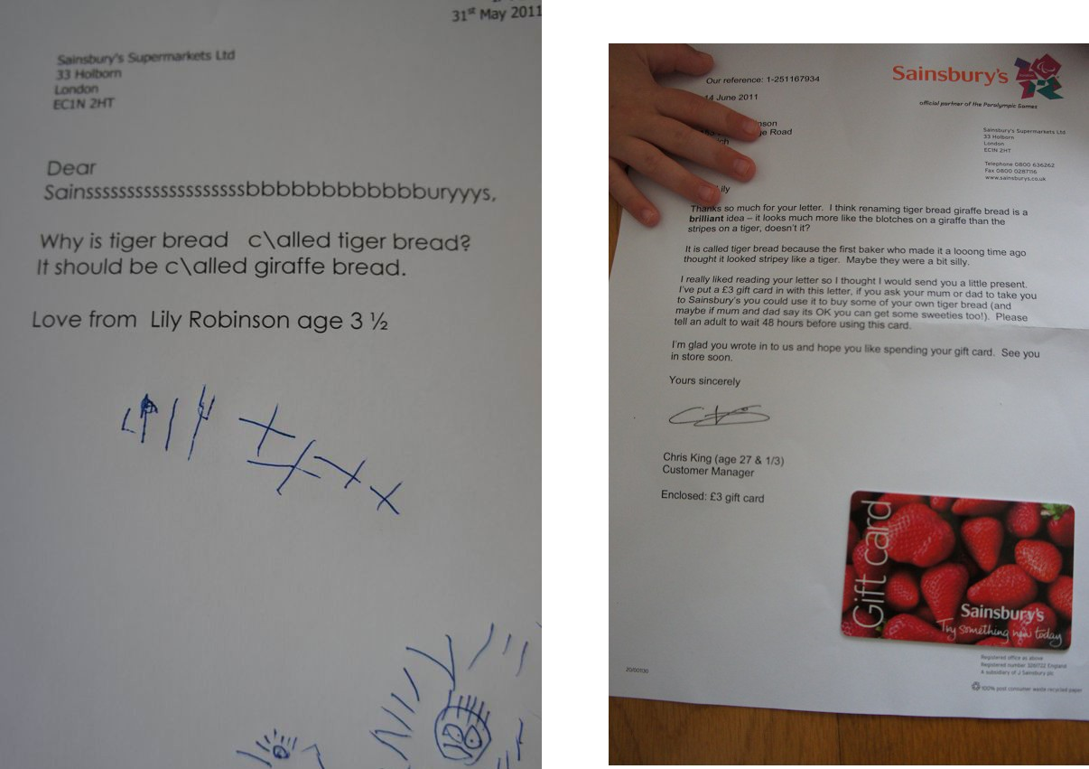5CwIw UK supermarket Sainsbury's rebrands its 'tiger bread' after girl's letter goes viral
