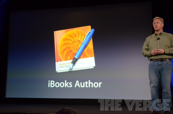 Apple announces iBooks Author, a Mac app for authoring iPad books