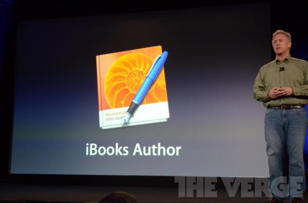 Apple announces iBooks Author, a Mac app for authoring iPad books