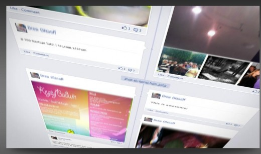 Create Your Timeline 2 520x307 Turn your Facebook Timeline into an amazing cinematic style movie