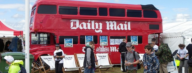 Daily Mail bus by hamster!