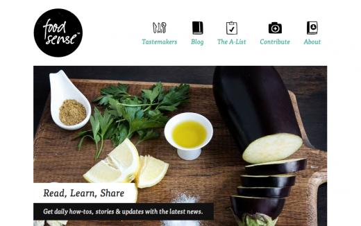 best food website design - Khafre