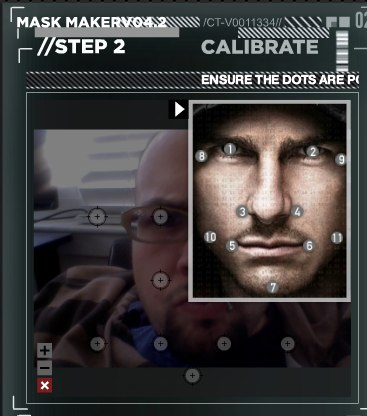 Mission  Impossible Ghost Protocol Mask Maker 2 Create a 3D mask of your face just like they do in Mission: Impossible 4