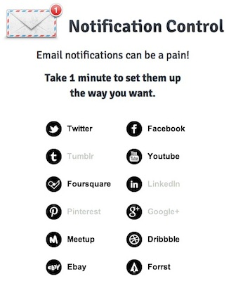 NC Clean up your email settings for Twitter, Facebook, YouTube & more in one go, with Notification Control