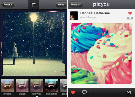 PicYou1 Web based alternative to Instagram PicYou launches an iPhone app