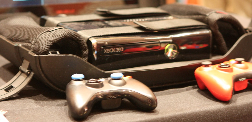 The Gaems G155 turns your Xbox 360 into a portable game station, monitor included