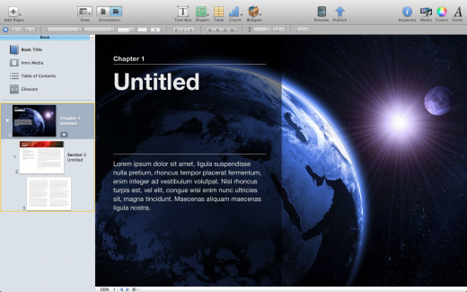 Screen Shot 2012 01 19 at 11.36.04 AM 520x325 A first look at Apples new iBooks Author