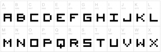 11 Surprisingly Good Pixel Typefaces