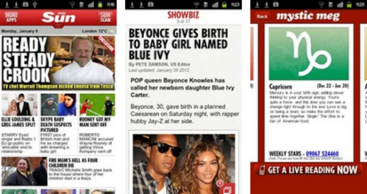 Screenshot 2 520x275 The Sun launches a subscription Android app, and an iPhone version is on the way