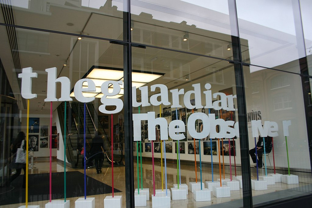 The UK's Guardian newspaper notches up 500,000 iPad app downloads
