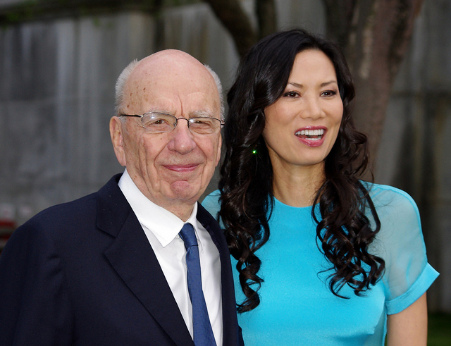 Wendi Murdoch's verified Twitter account was a fake