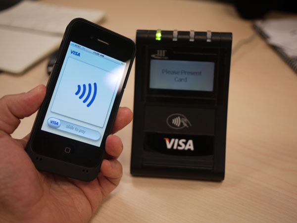 Visa certifies Samsung, LG and RIM smartphones to utilise NFC payments
