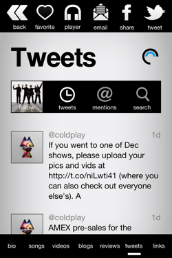 discovr1 Twitter and the Echo Nest partner to let developers link musicians tweets to their music