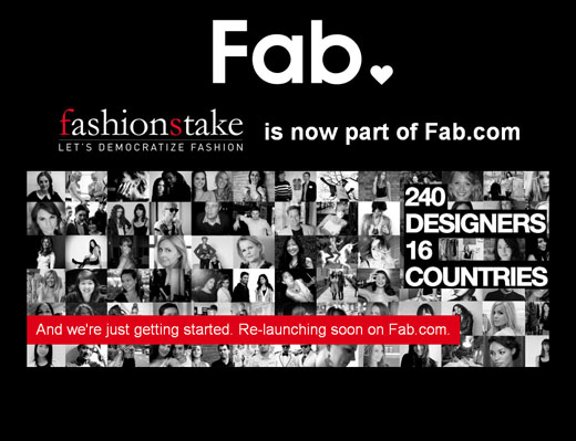 fab Fab buys up community ecommerce site FashionStake