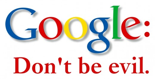 google dont be evil 520x267 Google is no longer The Internet but its still going to beat Facebook and Twitter