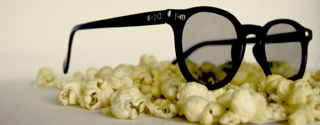Designer 3D glasses to wear at the movies? Either a crazy or brilliant idea