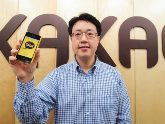 Korean mobile app Kakao Talk now sees 1 billion texts sent every day