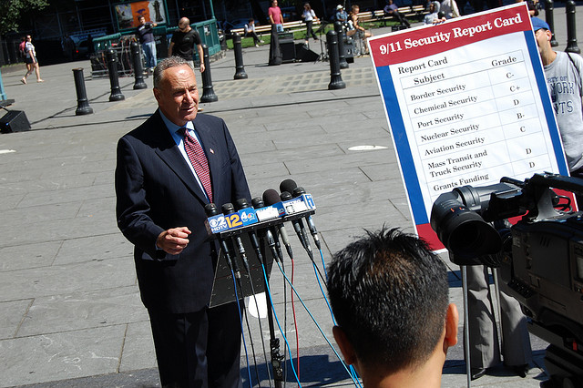 Senator Schumer's reps call claim of Internet censorship support 'absurd'