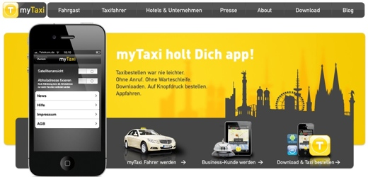 mytaxi 5 startup trends for 2012