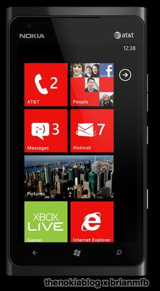 nokia lumia 900  What Nokias forthcoming LTE handset for the US market should look like