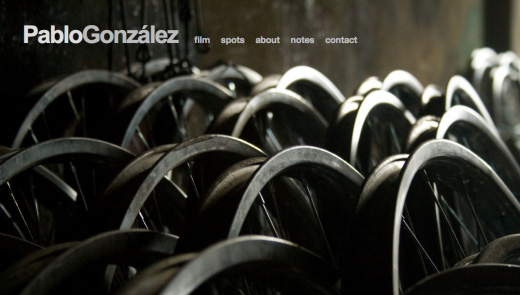 pablo gonzalez director copy 16 Beautiful examples of texture in web design