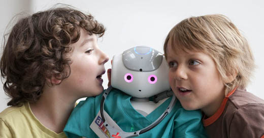 Scientists just 'proved' that it's easier to influence children with robots than adults ...