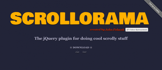 scrollorama 520x226 Create killer scrolling websites with the Scrollorama jQuery plugin
