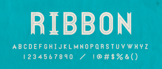 special1 520x222 9 Awesome free display typefaces you can download right now