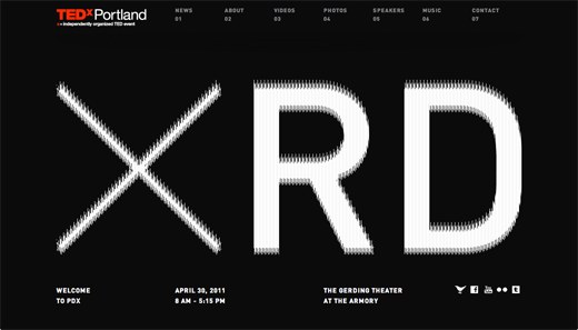 ted 9 Excellent examples of scrolling websites for designers