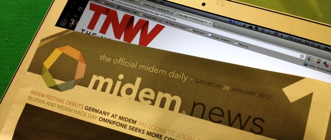 The Next Web is tracking the future of music industry innovation at Midem