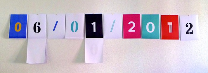 TypeA4 lets you print your own wall calendar in a few clicks
