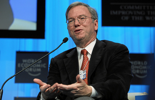 Eric Schmidt: Google search will continue to become more personalized